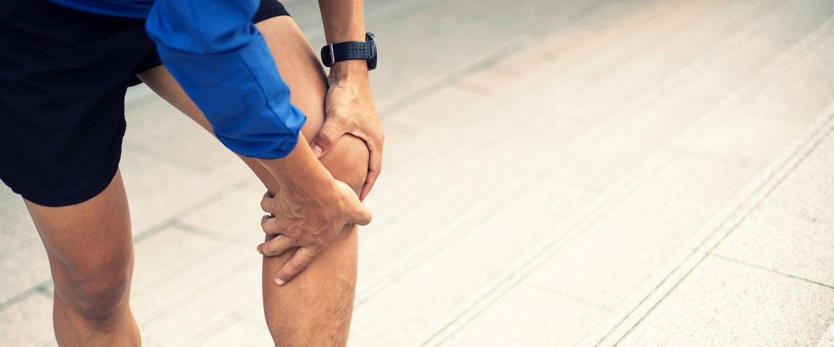 Athlete knee pain