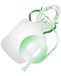 High-Concentration Oxygen Mask