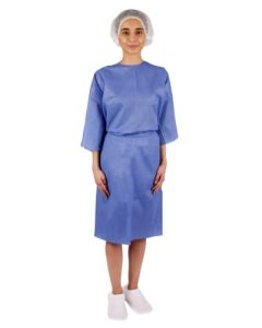 Patient Wear kit with Gown, Cap, Underwear and Elastic slippers