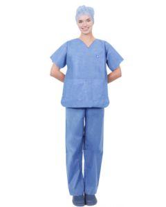 Pijama Quirúrgico Completo SMS Soft, un solo uso