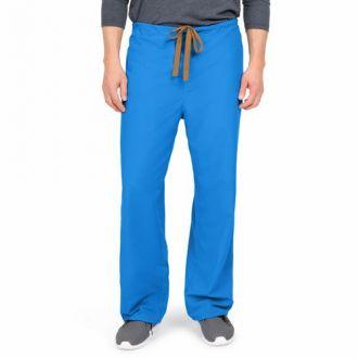 WORKS Unisex Reversible Scrub Pants - Royal Blue