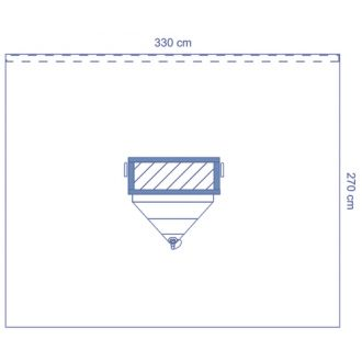 Invisishield Clear Isolation Drape 5