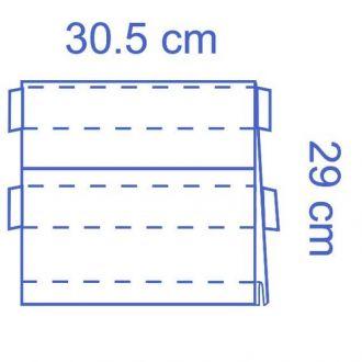 Poche à instruments Invisishield  - 1 compartiment