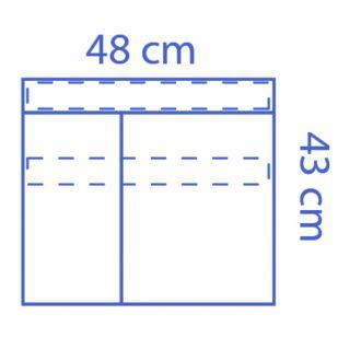 Poche à instruments Invisishield  - 2 compartiments
