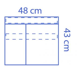 Bolsa de Instrumental Invisishield - 2 compartimentos