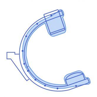 Conjunto de Coberturas para Arco em C - Cobertura Total para Siemens