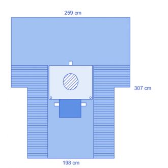 Eclipse C-Section Drape with Pouch & Full Incise Film
