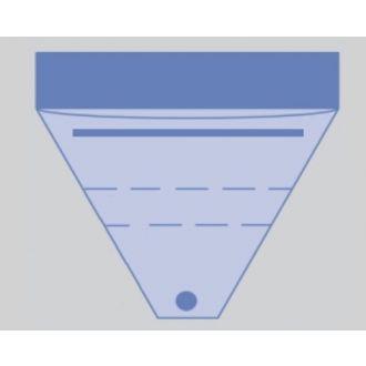 Poche de recueil Invisishield 3 - avec filtre et connecteur d'aspiration