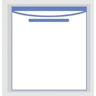 Invisishield Clear Adhesive Pouch - 1 Compartment