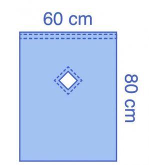 Telo Epidurale in Essential con fenestratura adesiva a rombo