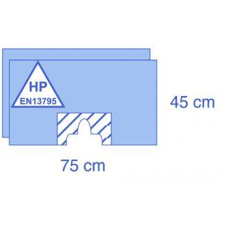 Set di teli fenestrati adesivi in Essential