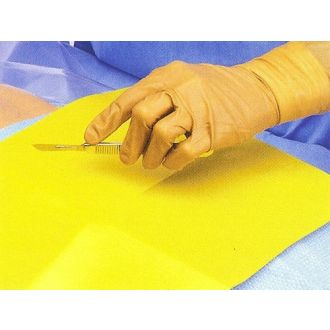 Tapis anti-dérapant pour instruments stérile