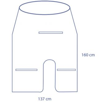 Universal mini C-arm cover
