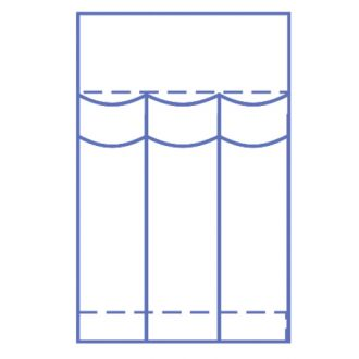Invisishield Laparoscopie Instrumentenzakje - 3 Compartimenten