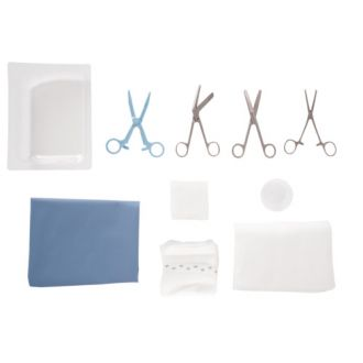 Episiotomy set