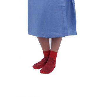Patientenwäsche-Set, mit Anti-Rutsch-Socken