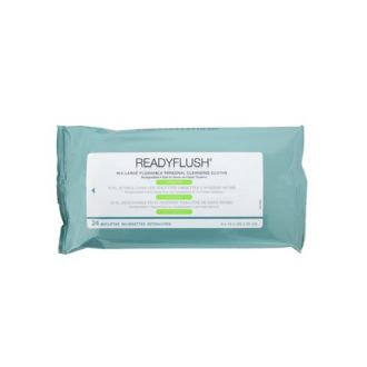ReadyFlush Scented Dispersible Wipes