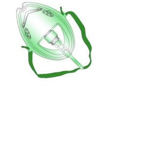 Medium-Concentration Oxygen Mask without Tubing
