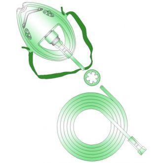 Masques à oxygène moyenne concentration
