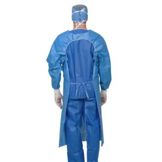 Single-Use Bilaminate Isolation Gown (Over the Head)