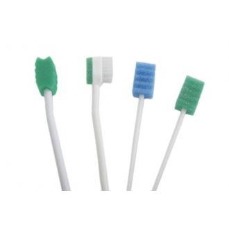 Brosse à dents imprégnées  et avec contrôle d'aspiration