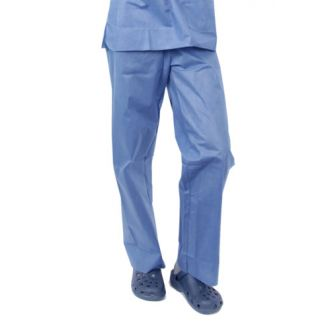 Disposable Soft Range SMS Scrub Suit Broek