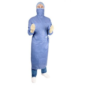 OPS Essential Polyreinforced Gown with Mask & Thumb Loops