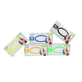 SensiCare® Free Untersuchungshandschuhe Nitril, akzeleratorenfrei