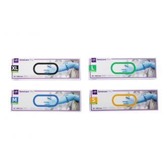 SensiCare® Pro Untersuchungshandschuhe Nitril - lange Stulpe