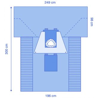 Ultimate C-Section Drape with U-Pouch & Fenestrated Incise Film